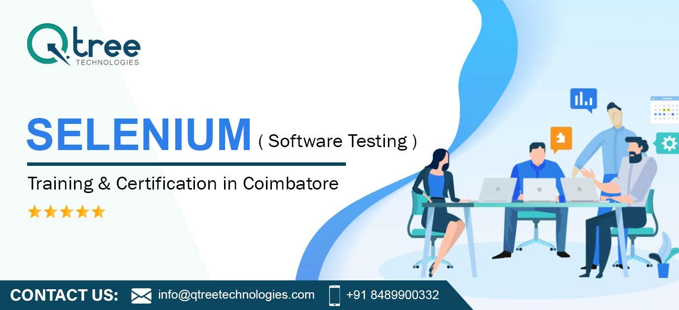 Best Selenium Online Certification Training Course in Coimbatore